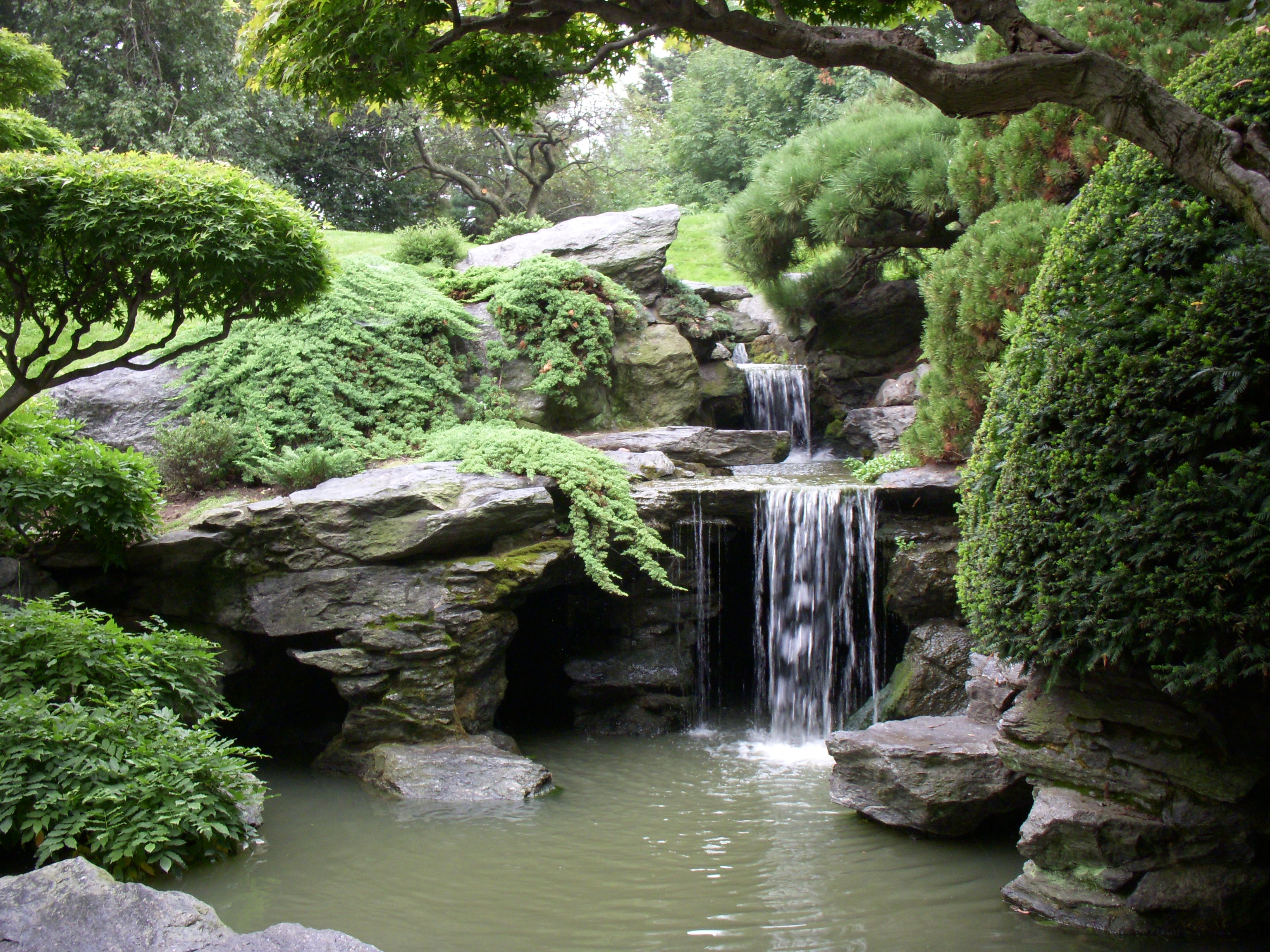 Symposium tour will feature historic japanese gardens in for Japanese garden pond design